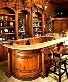 classy Home Bar Home Bar Sets, Home Wet Bar, Diy Home Bar, Home Pub, Bars For Home, Basement Bar Designs, Home Bar Designs, Arte Bar, Bar Sala