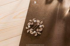 Bonny & Read 平價飾品 - 法式質感花圈髮夾  NT.136