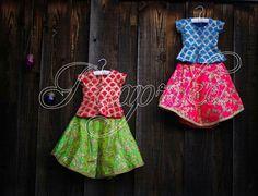 Kids Frocks, Frocks For Girls, Wedding Dresses For Girls, Baby Girl Dresses, Kids Lehenga Choli, Choli Dress, Toddler Fashion, Girl Fashion, Mom Daughter Matching Dresses