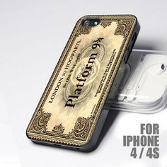 Hogwarts Express Ticket Harry Potter for iPhone 4 and 4S