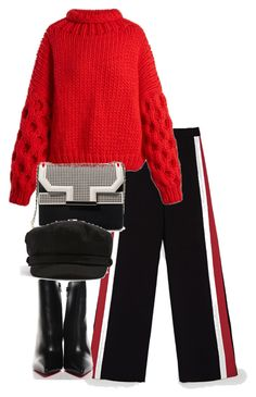 """""""Untitled #4812"""" by theeuropeancloset on Polyvore featuring I Love Mr. Mittens, Zara, Christian Louboutin and Topshop"""