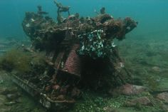 Wreckage of the Russian Ilyushin-2 aircraft retrieved as part of Victory Day