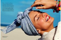 hot beachy hair: taylor marie hill and hanna verhees by chris craymer for uk glamour june 2013 | visual optimism; fashion editorials, shows, campaigns & more!