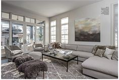 Leo Designs use BRADLEY'S Donna Hughes Painting in this mixed home in Chicago, IL