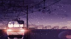 Discover & share this 5 Centimeters Per Second GIF with everyone you know. GIPHY is how you search, share, discover, and create GIFs. Anime Gifs, Anime Art, Aesthetic Gif, Aesthetic Wallpapers, 5cm Per Second, Gif Lindos, The Garden Of Words, Anime Places, Anime Scenery Wallpaper
