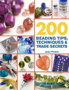 Booktopia has 200 Beading Tips, Techniques & Trade Secrets, 200 Tips, Techniques & Trade Secrets by Jean Power. Buy a discounted Paperback of 200 Beading Tips, Techniques & Trade Secrets online from Australia's leading online bookstore. Jewelry Tools, Jewelry Crafts, Jewelry Design, Jewelry Ideas, Soldering Jewelry, Jewelry Supplies, Beading Projects, Diy Projects, Beaded Jewelry