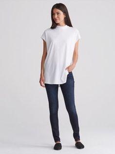 8e9dc49eb7459 Skinny Jean in Organic Cotton Soft Stretch Denim-F7MDN-P8110