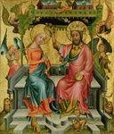 Der Buxtehuder Altar Bertram von Minden -  - Die Krönung Mariae