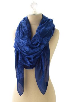 Stella & Dot Floral Print Bryant Park Scarf - Blue  if you'd like to purchase the stella & dot line or learn how to get for free. contact me. http://www.stelladot.com/denikaclay
