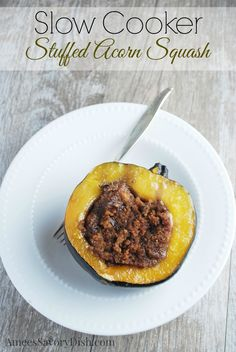 Slow cooker squash & Giveaway for a Hamilton Beach Programmable slow cooker!