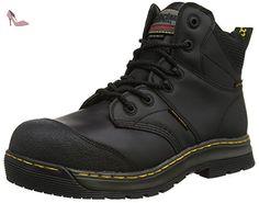 Dr. Martens Industrial  Surge St Waterproof, Bottes de sécurité homme - Noir - Noir, 40.5 - Chaussures dr martens (*Partner-Link)
