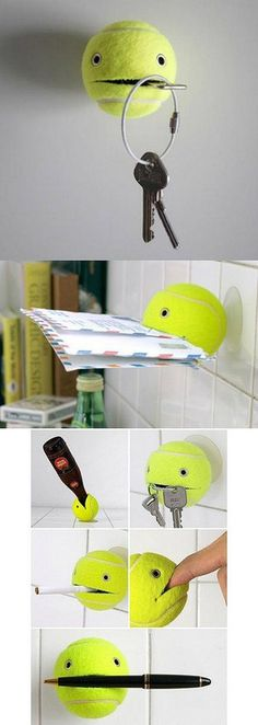 The Gadgeteer Digest: Who knew a tennis ball could be so handy?