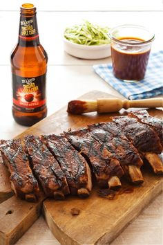mike's hard Smashed Apple Cider BBQ Ribs & Saucy Halloween Sides | Male Standard
