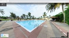 Perfect hospitality business promotion: the virtual tour of Kololi Beach Club #resort #beach #gambia #Streetview
