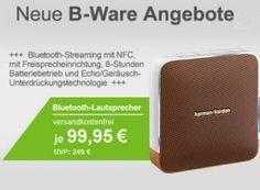 Bluetooth-Lautsprecher: Harman/Kardon Esquire als B-Ware für 99,95 Euro https://www.discountfan.de/artikel/technik_und_haushalt/bluetooth-lautsprecher-harmankardon-esquire-als-b-ware-fuer-99-95-euro.php Als neues B-Ware-Angebot der Woche gibt es bei Allyouneed den Harman/Kardon Esquire für 99,95 Euro frei Haus. Neu kostet der Bluetooth-NFC-Lautsprecher mindestens 129,99 Euro. Bluetooth-Lautsprecher: Harman/Kardon Esquire als B-Ware für 99,95 Euro (Bild: Allyouneed.com) D