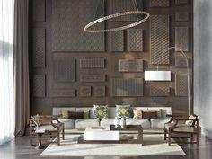 Le Méridien Istanbul Etiler—Feature Wall & Presidential Suite Living Room Furniture