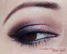 Rose gold smokey eye featuring Sleek Oh So Special palette