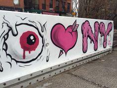 More street art by New York Art, Graffiti Art, Street Art, Nyc, Bird, Instagram Posts, Artist, Fictional Characters, Centre