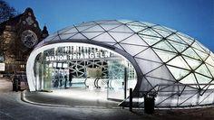 Triangeln Station in Malmo, Sweden.
