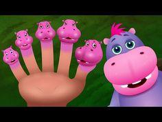 La Familia Hipopótamo | Familia de Dedos Animales Canciones Infantiles en Español | ChuChu TV - YouTube