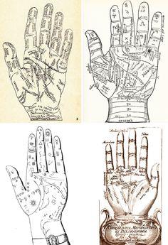 Potter Frenchy Party - chiromancy - divination class - Harry Potter DIY - chiromancie - palmistry - Poudlard - Hogwarts