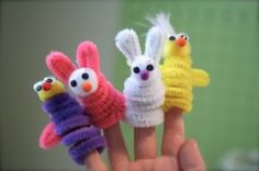 pipe cleaner animals-mission trip?