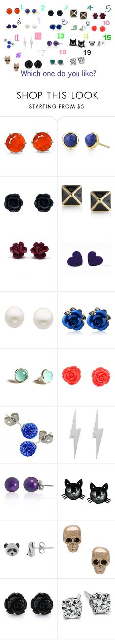 """Which Earring Do you like? (Part: 2)"" by sierra-ivy on Polyvore featuring Elsa Peretti, Rebecca Minkoff, Reeds Jewelers, Swesky, Edge Only, Bling Jewelry, Betsey Johnson, Givenchy, Tinley Road and Blue Nile"