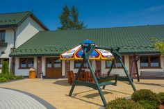 Dom Weselny Dom, Gazebo, Outdoor Structures, Park, Kiosk, Pavilion, Parks, Cabana