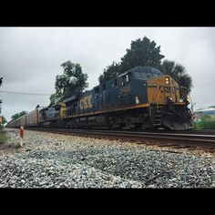 My first catch of the morning L212 headed NB on the Wildwood Sub. Through STARKEFl on 7/18/15 at 9:22 #trains_worldwide #trb_express #train_chasers #wildwoodsubdivison #pocket_rail #artofrailroad #daily_crossing @officialcsx by trainman95