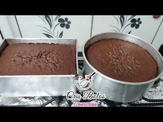 MASSA CHIFFON DE CHOCOLATE PROFISSIONAL - YouTube Chocolates, Macarons, Cake Recipes, Food And Drink, Pudding, Cooking, Desserts, Bolo Chocolate, Bolo Fake