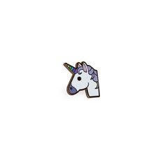 Unicorn emoji enamel pin |  | LULUBLOO