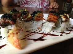 White Dragon Roll, Doraku Sushi, Royal Hawaiian Center, Waikiki, Hawaii