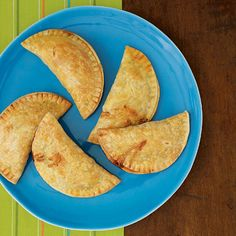 Ham and Cheese Empanadas -- a quick, kid-friendly meal.
