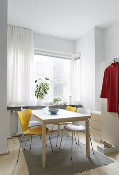 House Design, Scandinavian Home, Decor, Furniture, Folding Table, Home, Interior, Modern, Home Decor