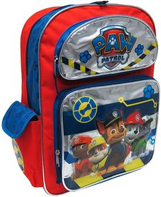 ca4d49fa6076 Amazon.com: Nickelodeon Paw Patrol With 3D Embellishment Kids Backpack, 16  Inches: