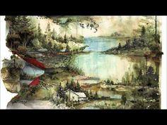 Bon Iver Bon Iver on LP. Bon Iver is Justin Vernon returning to former haunts with a new spirit. The reprises are there, solitude, quietude, hope & desperation Bon Iver, Australian Painting, Australian Artists, Landscape Art, Landscape Paintings, Landscapes, Guache, Art Moderne, Oeuvre D'art