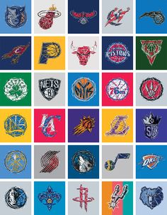 RareInk – NBA Logo's
