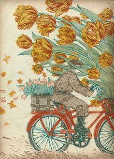 PLANSPONSOR EUROPE magazine Spring 2012 art by Yuko Shimizu