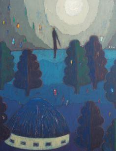 おぼろづくよ オーガフミヒロ カレンダー原画展 『emerging wind』   Fumihiro OOGA