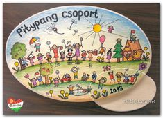 Kindergarten, Diy Crafts, Plates, Tableware, Going Away, Licence Plates, Plate, Dinnerware, Dishes