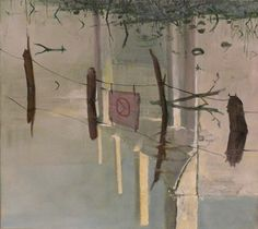 Herman Levente: Fal – Behajtani tilos / Wall - No Entry - 2009 	olaj, vászon / oil on canvas80x 90 cm