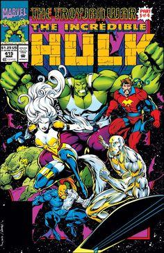 Hulk Comic, Marvel Comic Books, Comic Books Art, Marvel Comics, Comic Art, Book Art, Comic Book Pages, Comic Book Covers, Comic Book Characters