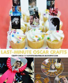 iLoveToCreate Blog: CRAFTY CINEMA: Easy Oscar Party DIY
