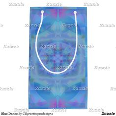 Blue Dance Small Gift Bag