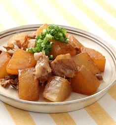 Simple simmered daikon radish and pork 【簡単】こっくりおいしい豚バラ大根