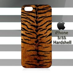 Skin Tiger Pattern iPhone 5 5s Case Cover Hardshell