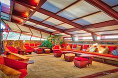 Garden Room at Taliesin West @wrighttaliesin #taliesinwest #franklloydwright #scottsdale #arizona