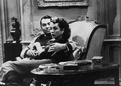 James Mason and Danielle Darrieux in 5 Fingers (1952) Directed by Joseph L. Mankiewicz