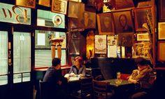Bar Pastis Absinthe Bar in the Raval Barri Xino Barcelona Catalonia Spain