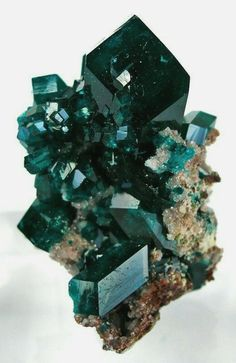 pretty teal crystals